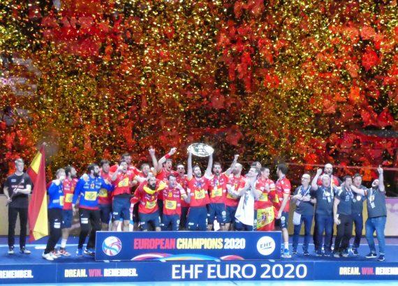 Spagna campione d'Europa