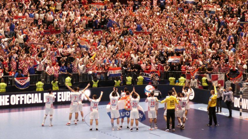 Invasione croata alla Stadthalle di Graz