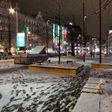 Vienna innevata durante Euro 2020