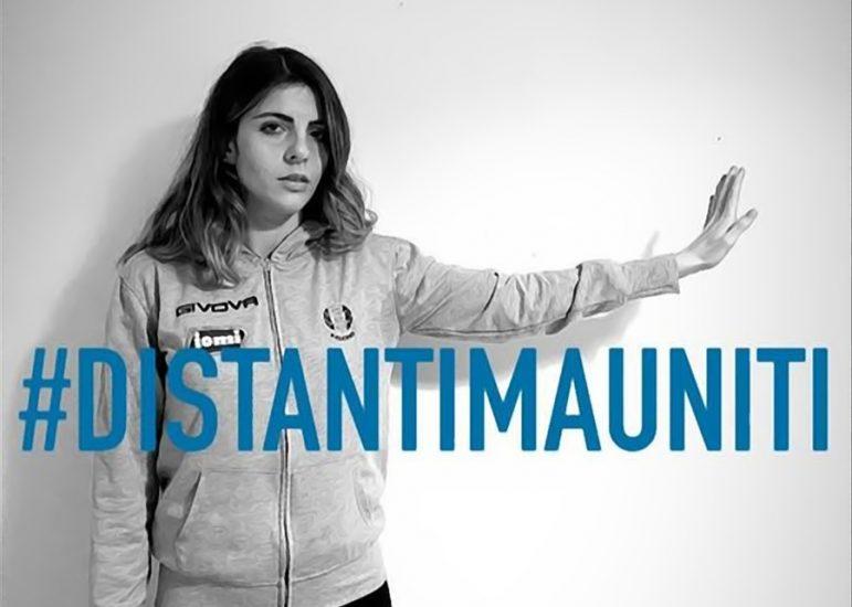 """""""Distanti ma uniti"""": Ilaria Dalla Costa aderisce all'appello degli sportivi italiani contro il coronavirus"""