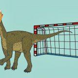 Pallamano: lo Zanovellosauro, fossile vivente ancora attuale?