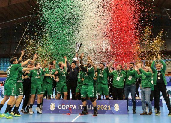 Conversano vincitore Coppa Italia 2021 - Foto Isabella Gandolfi / FIGH