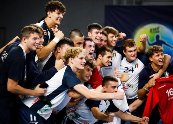 Pallamano: Azzurrini qualificati agli Europei 2022 © EHF-kolektiff images